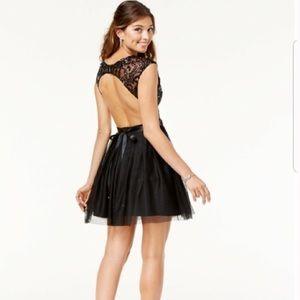 NWT black sequin dress